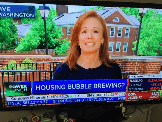 Housing bubble brewing