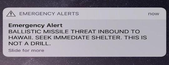 Emergency Alert screenshot