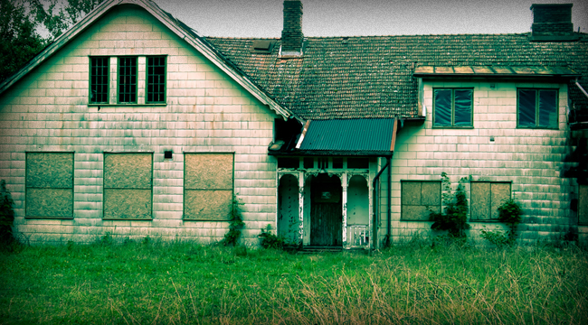 Banker Hypocrisy and Zombie Homes