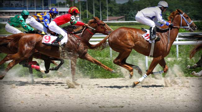 Forget Bernanke's Speech, Let's Head To The Races!