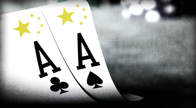 China's Game of Texas Hold 'Em