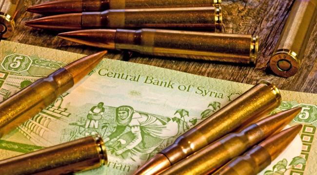 Syrian Pound Hits an All-Time Low