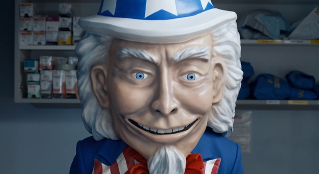 Uncle Sam Wields a Speculum