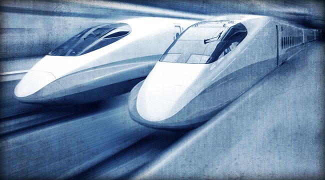 A Bullet Train for the Next Generation