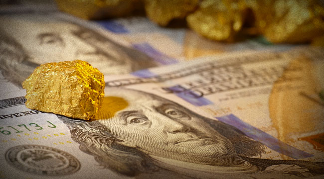 Ditch Your Gold for Greenbacks