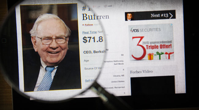"Buffett Takes a Page From the ""Inflation King's"" Playbook"