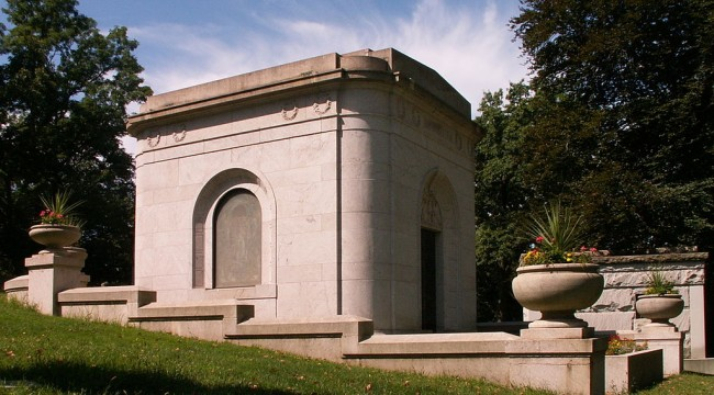 The Solar-Powered Mausoleum