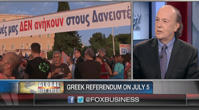 Greek Exit From EU Not An Inevitability
