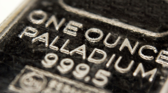 Palladium Gets Goosed