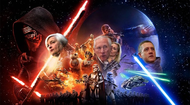 "Our ""Star Wars"" Economy: The Fed-Farce Awakens"