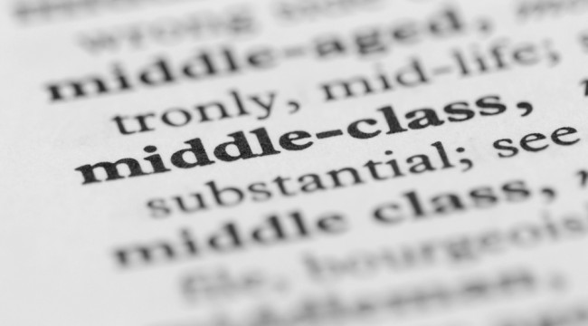 America's Middle Class Is an Endangered Species