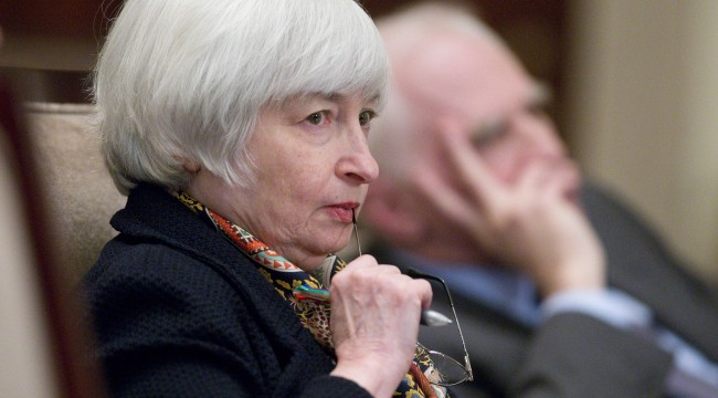 It's All About Janet Yellen On The Hill Today!