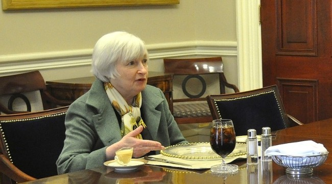 Janet Yellen's Cannonball Express