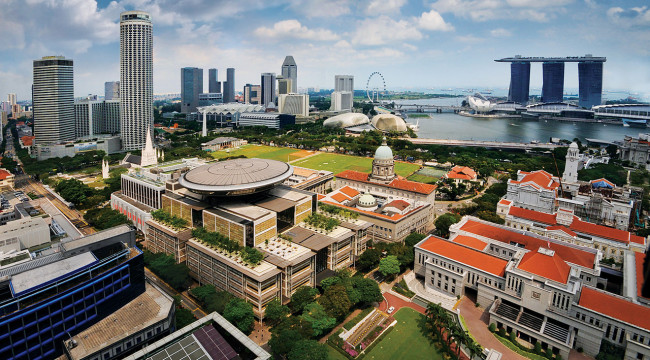 Singapore Moves to #3 Financial Center