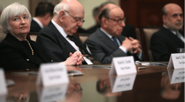 Three Blind Mice (and Paul Volcker)