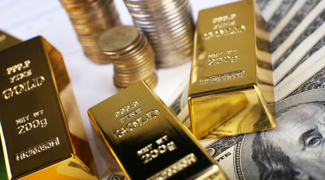 Gold Leaves $1,250 in the Rear View Mirror