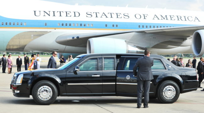 The Day Obama Stayed at My Place (See Picture)