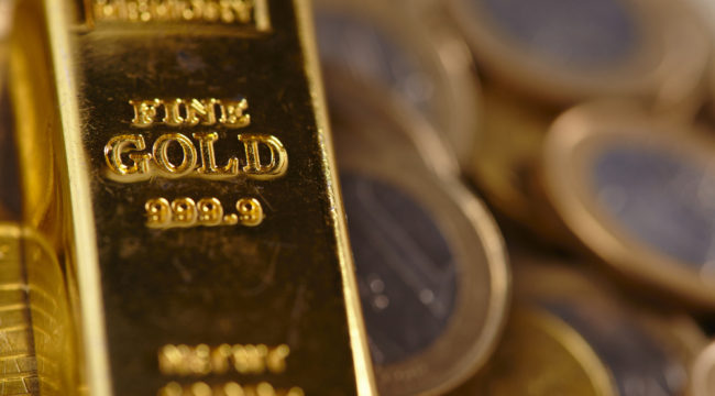 "Gold Meets the ""Perfect Storm"""