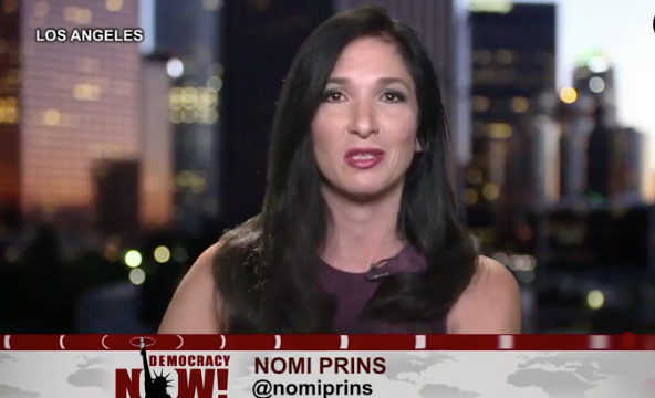 Nomi Prins: Bank CEO Let Thousands Take the Fall
