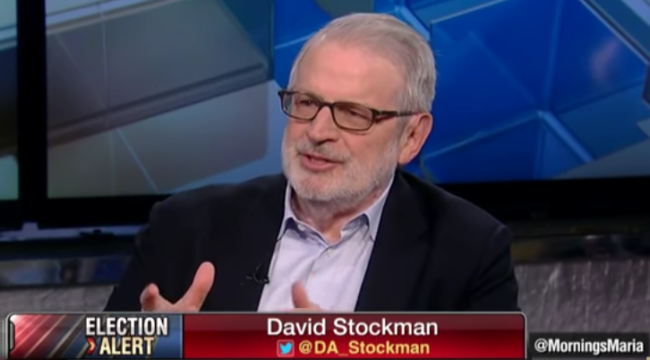 David Stockman: Economy is on the Edge