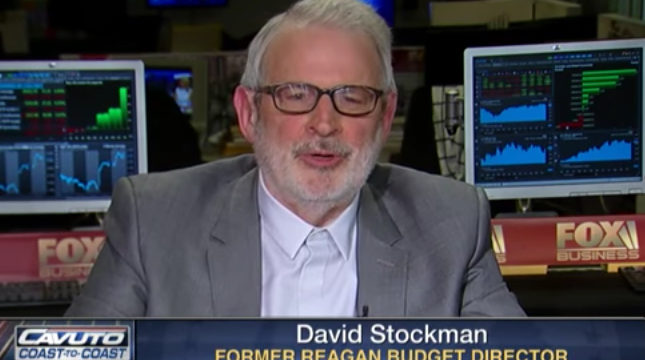 David Stockman: Prepare for Fiscal Bloodbath, Not Fiscal Stimulus