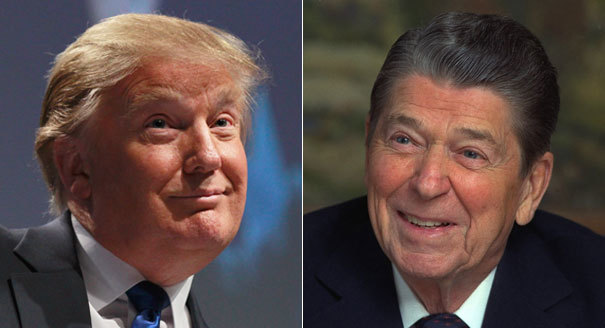 Comparing Trump to Reagan