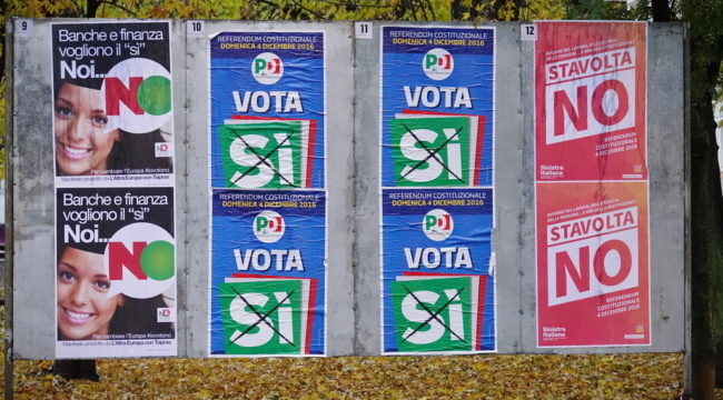 5 Questions, Answered about Italy's Referendum