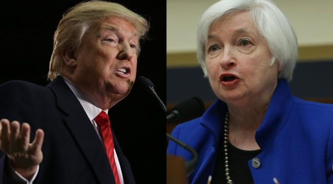 Trump Must Fire Janet Yellen — First Thing!