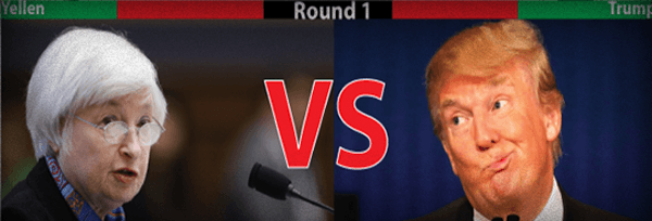 The Yellen-Trump Showdown