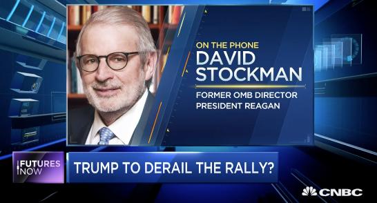 Stockman: Market Will Not Be Pretty Under Trump
