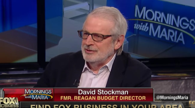 Stockman: We're Borrowing Our Way to Economic Disaster