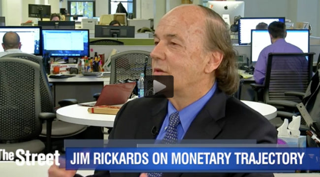 Jim Rickards: The Numbers Impacting the Fed