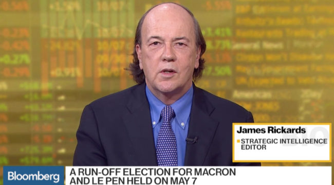 Jim Rickards: The Fed Sends Gold Higher