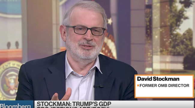 Stockman: Current Budget Projections are a Fantasy