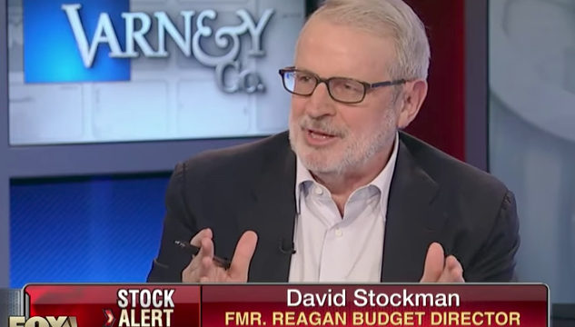 Stockman: Not a Snowball's the Economy Grows 4%
