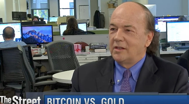 Jim Rickards: Bitcoin vs. Gold