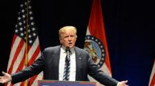 Trump Takes on Giant