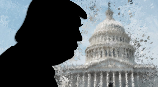 Trump Vows to Save Americans From Congress