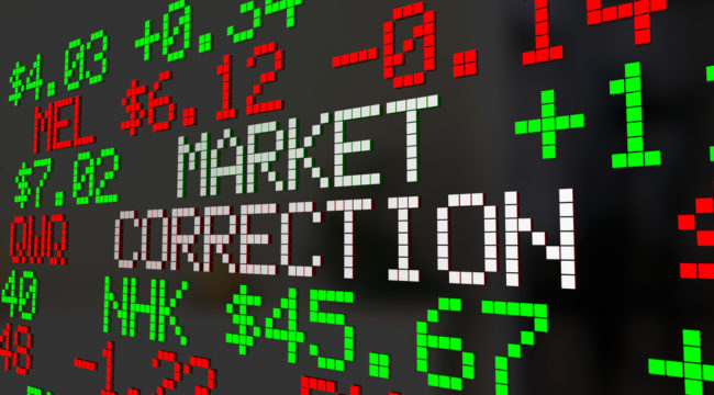 Why You Shouldn't Worry About a Correction