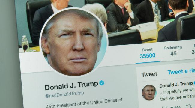 Did a Trump Tweet Just Doom the Stock Market?