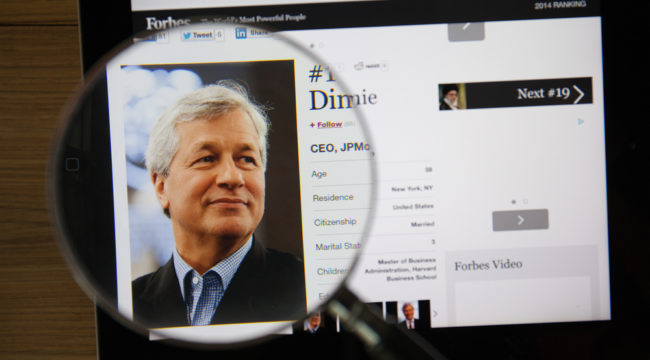 My Lunch With Jamie Dimon, CEO of J.P. Morgan