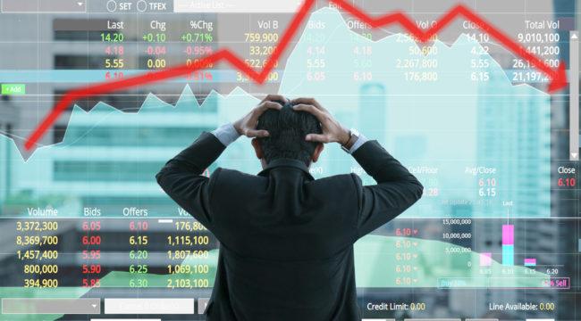 STOCKS SLAMMED: Volatility Crushes the Rally