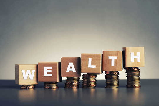 3 Levels to Building Your Wealth
