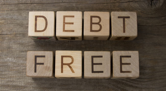 Become Debt-Free in 4 Easy Steps