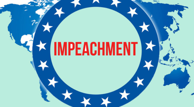 Impeachment: Readers Weigh in