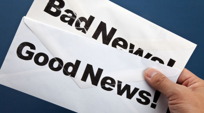 When Good News Is Bad News