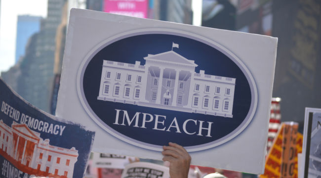 Are They Going to Impeach Trump Again?