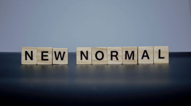 "You May Never See ""Normal"" Again"