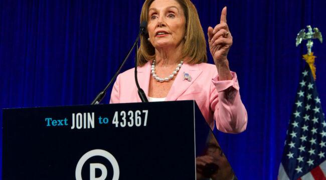 Nancy Pelosi, Next President of the United States?